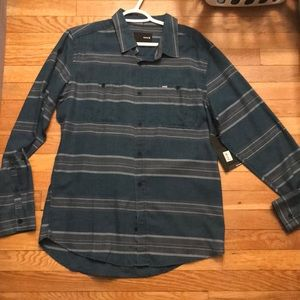 Hurley Long Sleeve Button Down Shirt